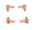Electronic Fastener Precision CNC turned part Copper Connector for Signal Receiver